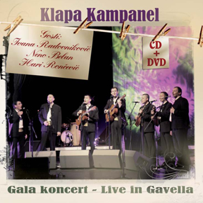 Live in Gavella CD i DVD
